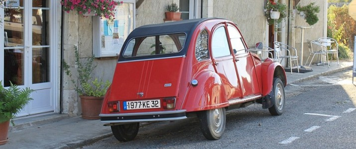 Studieren und Reisen in Frankreich mit dem Auto